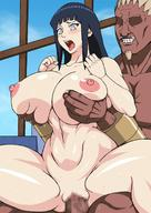 1boy 1girls abs ahe_gao black_hair blush breast_grab busty censored dark-skinned_male dark_skin erect_penis female grin hands_on_breasts heavy_breathing huge_breasts human hyuuga_hinata interracial larger_male long_hair male muscular muscular_female muscular_intersex muscular_male naruho naruto naruto_(series) naruto_shippuden nude raikage sex size_difference smaller_female smile straight teeth thick_thighs vaginal_penetration wide_hips // 1220x1725 // 224.7KB