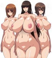 3girls breasts daughter erect_nipples female girls_und_panzer high_resolution large_breasts long_hair milf mother_and_daughter multiple_girls navel nipples nishizumi_maho nishizumi_miho nishizumi_shiho nude prostitutes raisuta_higashitotsuka short_hair siblings sisters vagina // 1200x1340 // 228.3KB